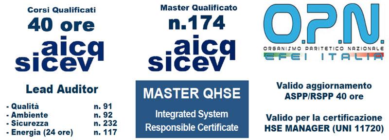 Certificazioni Master MASGI